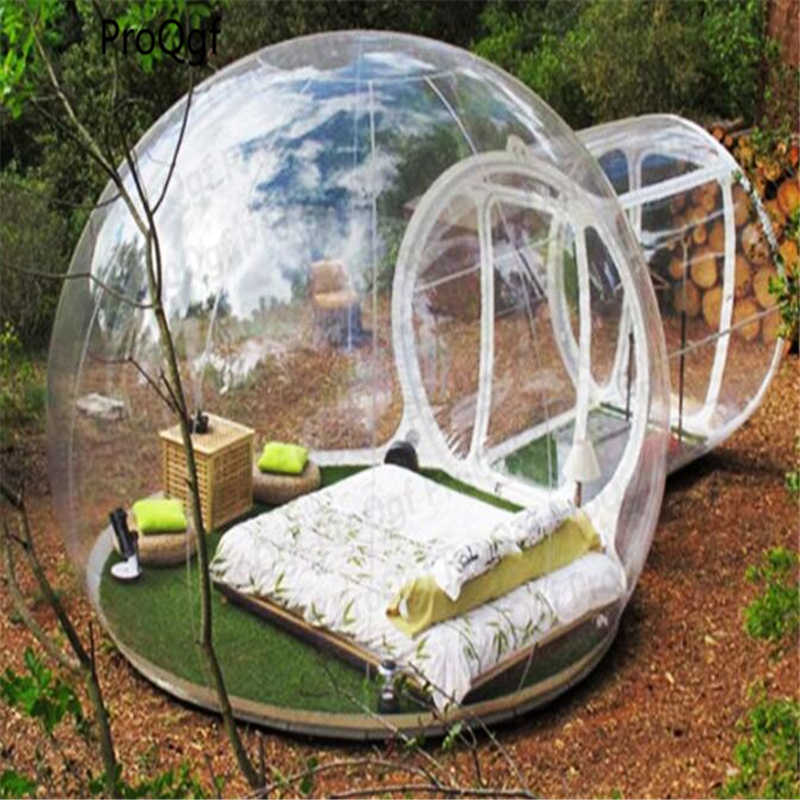 1Pcs A Set  Inflatable Bubble Tent Outdoor Camping Tent 3meter tent  for 2 people use way about 1.5meter
