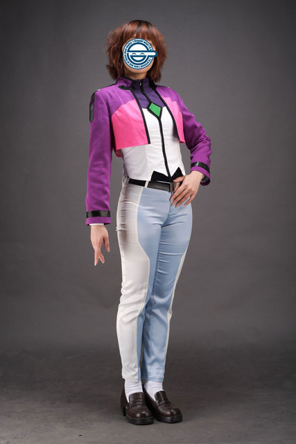 Mobile Suit Gundam 00 Cosplay Costume Lisa Ann Beley Any Size