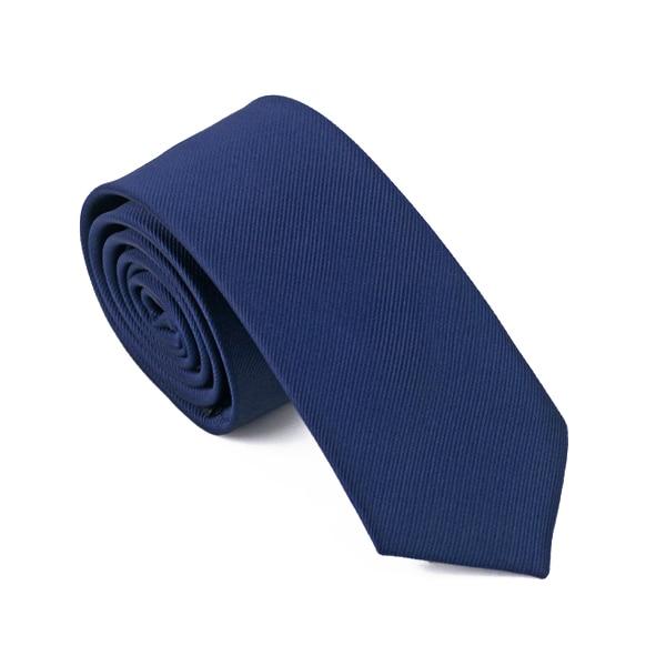 HB-005 Mens Ties Silk Skinny Ties For Men Slim Tie Solid Dark Blue Wedding Necktie Free Shipping
