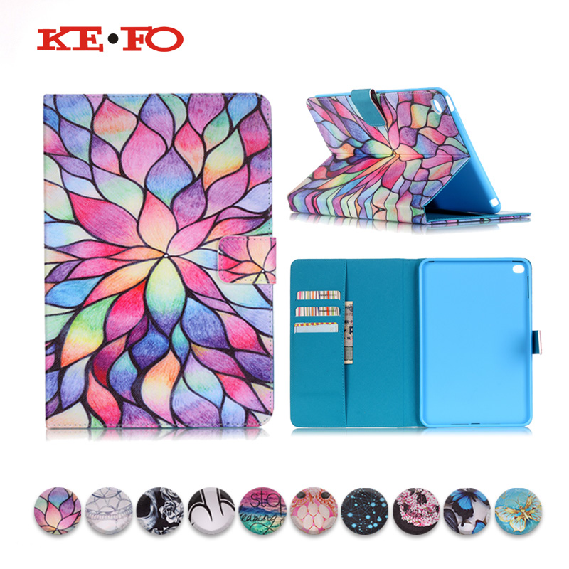 KeFo Luxury Case For ipad air 2 Apple Tablet PU Leather Flip Cover For Apple ipad air 2 Case A1567 A1566 funda Shockproof Cases for apple ipad air case flip stand cover pu leather leopard series rotate protective tablet cover coque funda capa