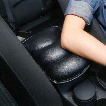 Almohadilla de cubierta de reposabrazos de coche, almohadilla de descanso de brazo para Hyundai ix35 iX45 iX25 i30 Sonata, Verna, Solaris, Elantra, Mistra, Tucson