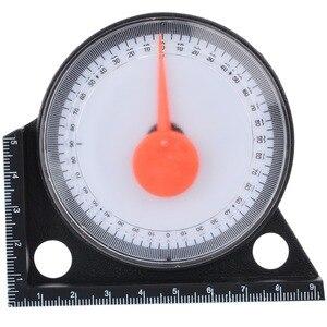 Image 5 - مقياس الميل المائل لتحديد الزوايا مقياس مستوى الميل والمنقلة مقياس لقياس الميل مع أدوات قياس القاعدة المغناطيسية