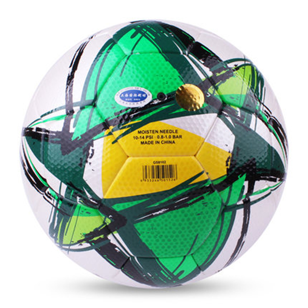 Original TRAIN GS8102  High Quality Standard Soccer Ball Training Balls Soccer Official Size 5  PU Soccer Ball