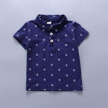 Fashion Summer Cotton Baby Boy's Clothing Set