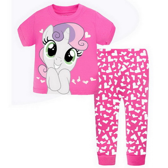 292cd7a661 2 7Y Baby Pajamas fashion Pijamas Kids Girls Boys Sleepwear Long Sleeve  100% Cotton Nightgown Children Clothing Bebe Clot A96-in Pajama Sets from  Mother ...