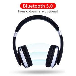 Image 2 - MH7 bluetooth kablosuz kulaklıklar Katlanabilir stereo oyun kulaklığıı Mikrofon Desteği TF Kart IPad Cep Telefonu için
