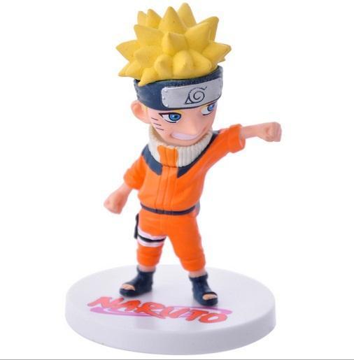 6 Pcs Naruto Anime Action Figure