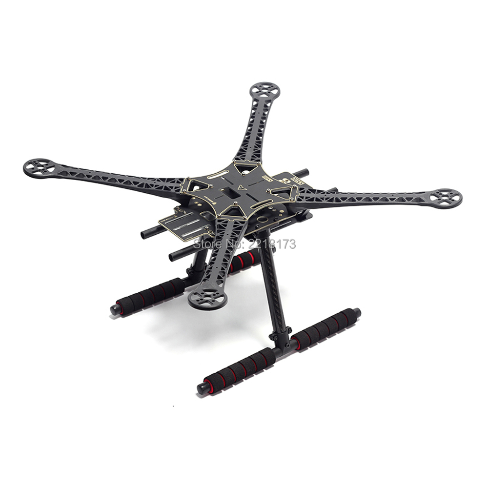 S500 SK500 500mm Quadcopter Multicopter Frame Kit PCB Version with Carbon Fiber Landing Gear for FPV Quad Gopro Gimbal Upgrade цена