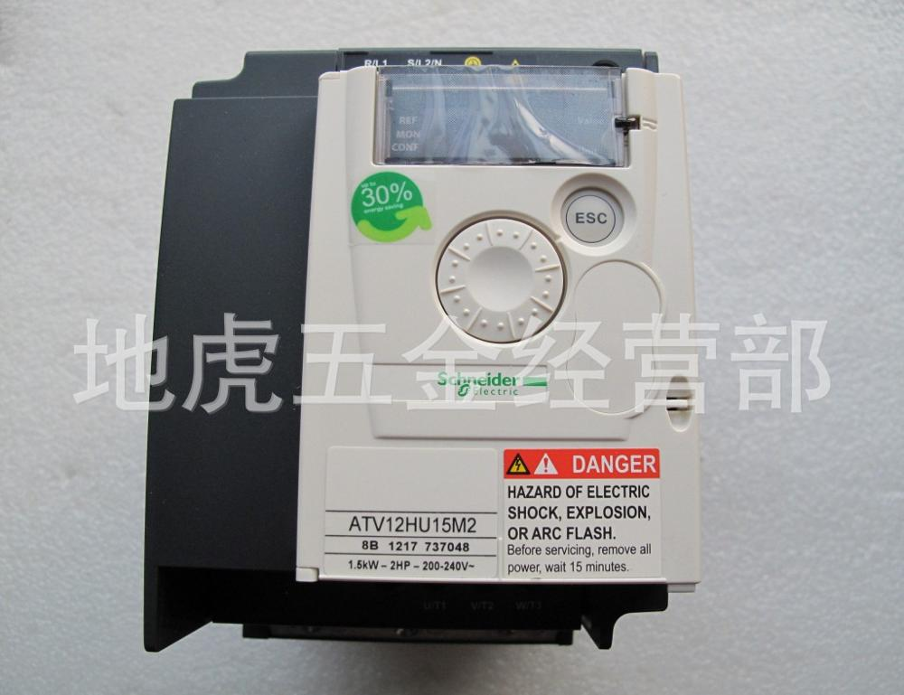 ATV12HU15M2 Schneider ATV12 Single Phase Frequency Converter 1 5KW