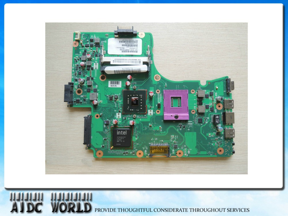 FOR TOSHIBA Satellite C650 C655 motherboard V000225020 6050A2355301 100% TESTED okay!  wholesale v000225020 laptop motherboard for toshiba c650 c655 100