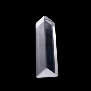 K9 Optical Glass Right Angle Reflecting Triangular Prism For Teaching Light Spectrum G8TB image