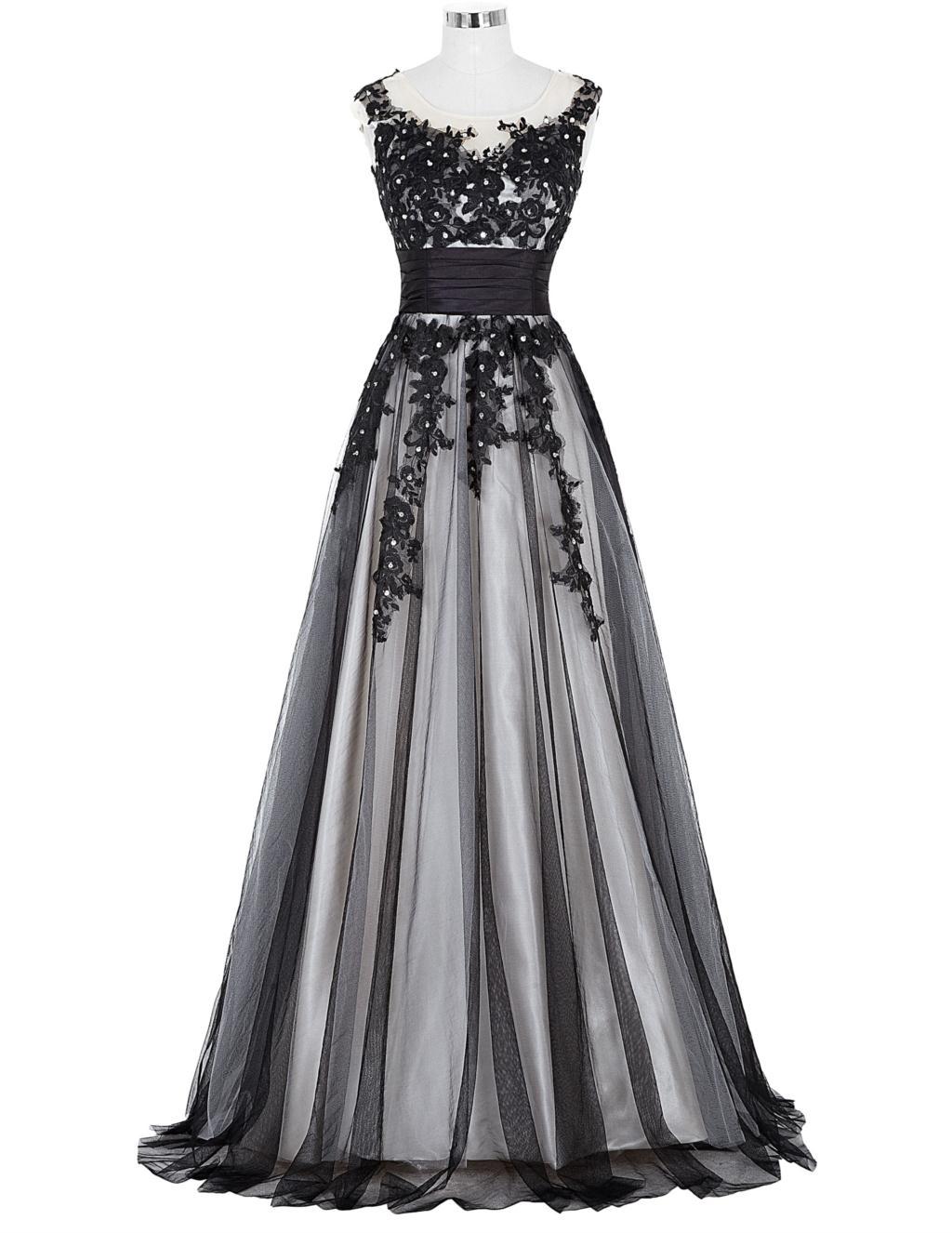 Elegant Lace Appliques Mother of the Bride Dress 14