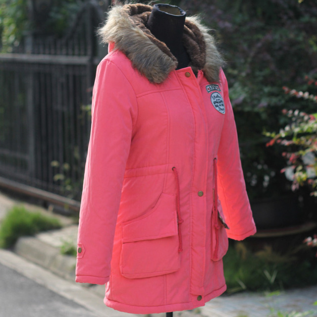 Women Coats  Long Down made from breathable  cotton