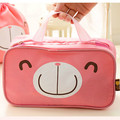 Pink Cute Necessaire Cosmetic Bag Travel Business Makeup Case Wash Pouch Waterproof Female Beauty Toiletry Accessories products
