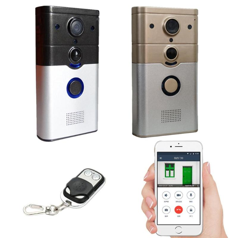 Wireless WifiI Video Doorbell Remote Video Intercom Phone APP Remote Monito