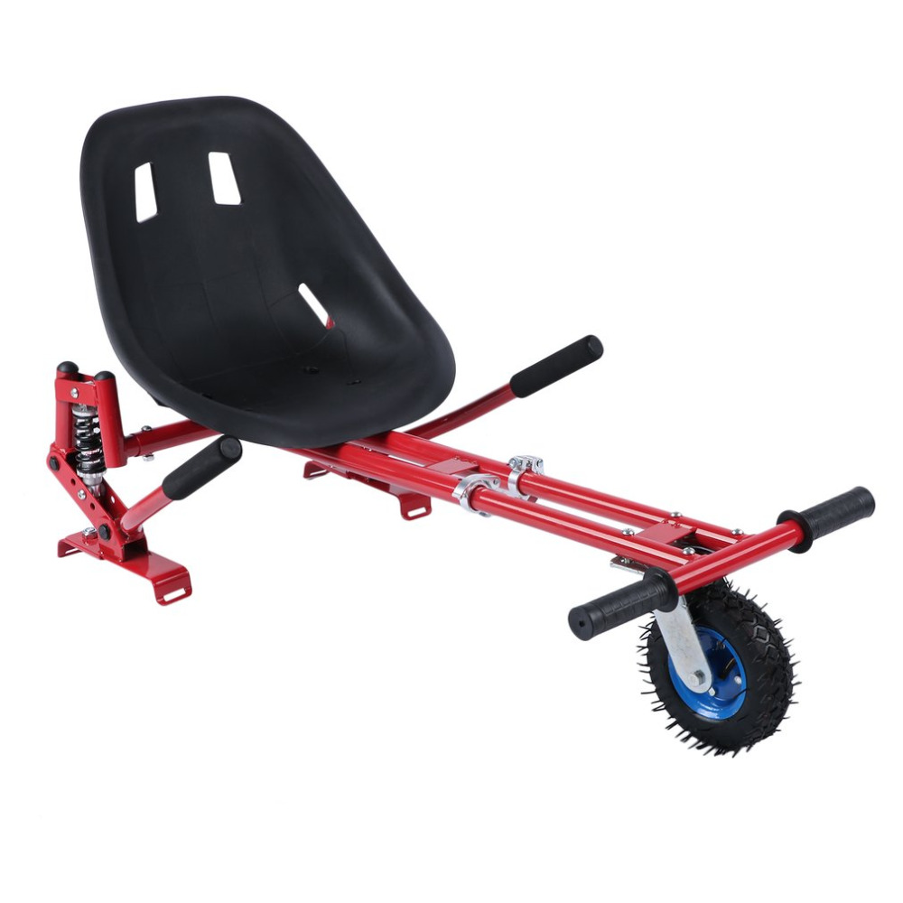 Shock Absorber Go Kart For Self Balancing Electric Scooters Adjustable Hover Seat Hoverboard Accessories For Adults Kids