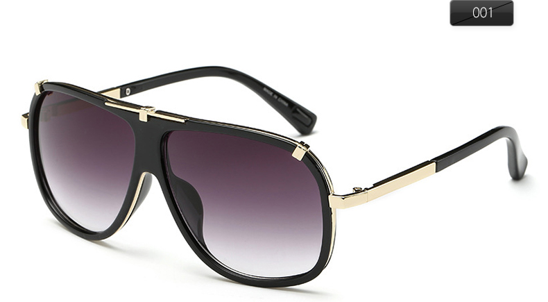 76631af8b68 DOLCE VISION Luxury Male Pilot Sunglasses Fashion Brand Designer Sun ...