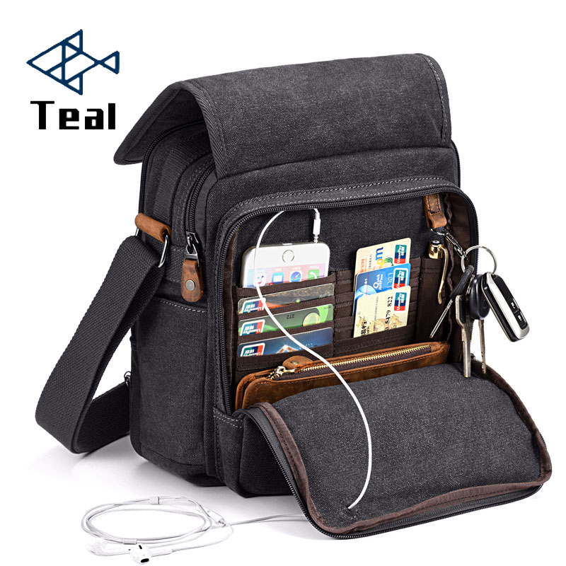 Men Handbag Bags for men Casual Multifunction Small Travel Waterproof Leisure Shoulder Fashion Crossbody