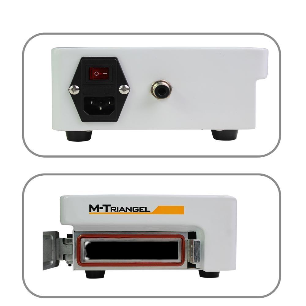 Pantalla Plana LCD removedor de burbujas máquina de alta presión LCD reacondicionamiento 220 V/110 V 7 pulgadas pantalla necesita bomba externa m triangel M1 - 2