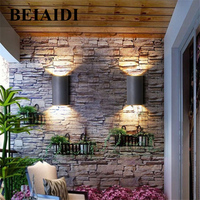 BEIAIDI Waterproof 10W Aluminum COB LED Wall Lamp Light Modern Home Indoor Outdoor Garden Balcony Aisle Sconce Wall Light