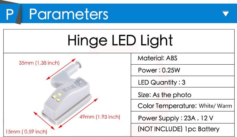 hinge LED light cabinet under sensor light lamp night light-08