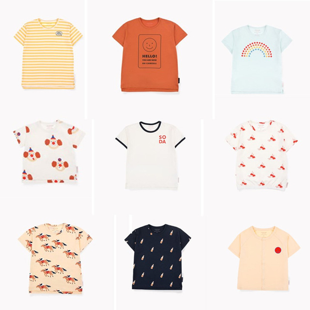 7a5455e69580f Tiny Cottons 2019 Girls t Shirt Enfant Boys Tshirt Boy Short Sleeve Tops  Girl Clothes TC Letter Summer Tee Shirt Summer Cicishop. 7 orders