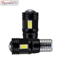 canbus שגיאה חינם שגיאה CANbus T10 נורת LED 2pcs BraveWay חינם 5730 6SMD W5W מנורה אוטומטי פנים עמילות חנייה אורות רכב סטיילינג 194 168 12V (1)