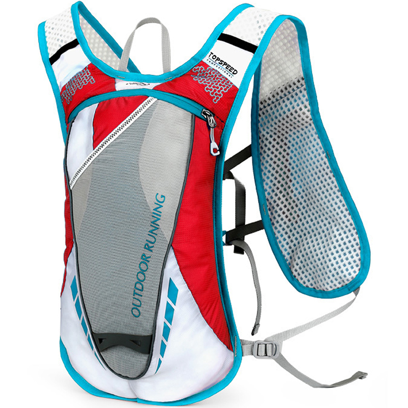 New 5L Bicycle Hydration Backpack Portable Water Bag Cycling Hiking Sports Backpack Mini Sport Bike Bag Running Shoulder Bags