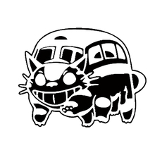 20cm*15.6cm Cat Bus Funny Vinly Cool Car Stickers Decal Styling Exterior Accessories for or Motorcycle