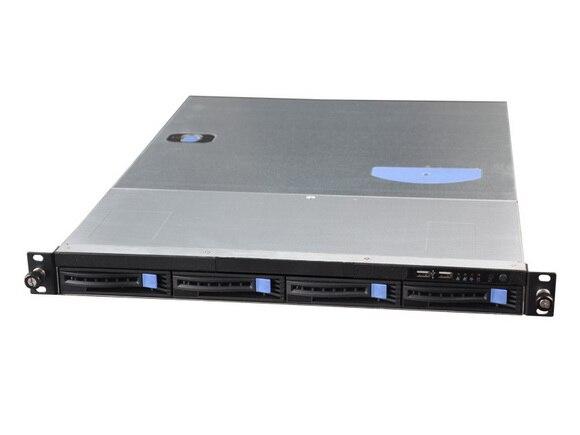 1U Computer case RM 1004 660 B font b server b font Chassis 4 plate hot