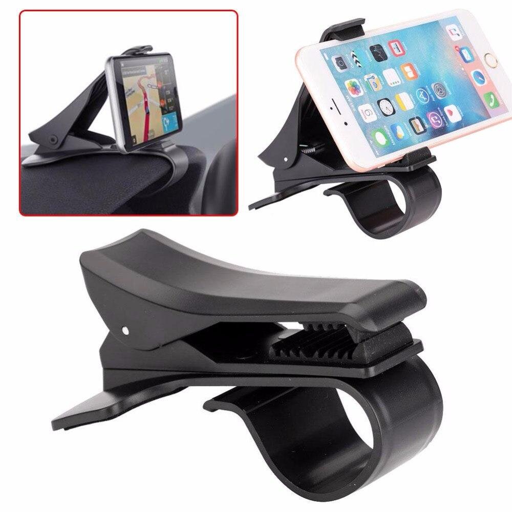 2017 Universal Car Dashboard Mount Holder Stand 360 Degree HUD Design Car GPS Navigation Mobile Phone Holder Stand Bracket Clamp