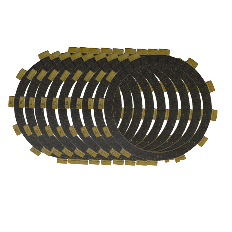 Motorcycle Clutch Friction Plates Kit Set for YAMAHA TDM850 TDM900 TRX850 Bakelite Clutch Lining 9 PCS #CP-0004 sachs k70397 01 clutch kit