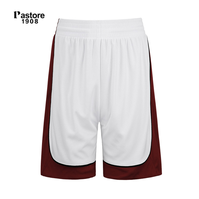 Pastore1908 brand mens Basketball Shorts quick dry breathable running  sports short europe sizeS 4XL name custom jersey white306B-in Basketball  Shorts