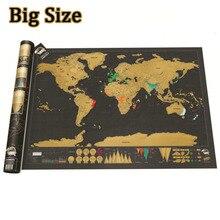 العالم خريطة خدش خدش