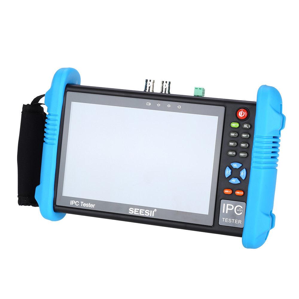 SEESII 9800PLUS 7 pouces 1920*1200 IP caméra testeur 4K 1080P IPC CCTV moniteur vidéo Audio POE Test écran tactile HDMl découverte 8GB-in Moniteurs de vidéosurveillance from Sécurité et Protection    3