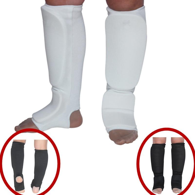 MMA, Taekwondo, Karate, Martial Arts, Boxing White S Shin /& Instep Guard