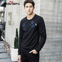 Seven7 New Autumn Winter Fashion Men Hoodies Casual 100 Cotton Male Pullover Tracksuit Mens Crewneck Brand