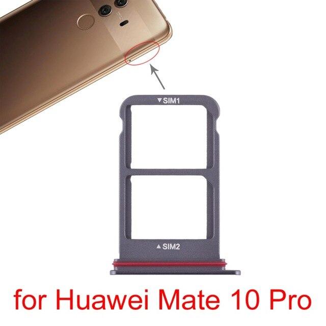 Bandeja de la tarjeta SIM + bandeja de tarjeta SIM para Huawei Mate 10 Pro \ P9 Lite \ P20 Pro \ P20 \ Honor 7A \ P20 Lite/Nova 3e \ 9 \ P inteligente \ View10 \ Maimang6