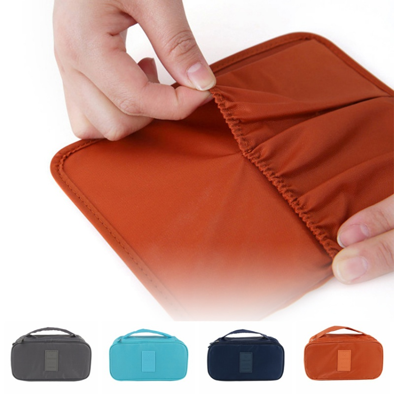 Hot Sales Solid Waterproof Travel Bags Nylon Travel Cosmetic Bag Toothbrush Pouch Toiletries Storage Luggage Organizer