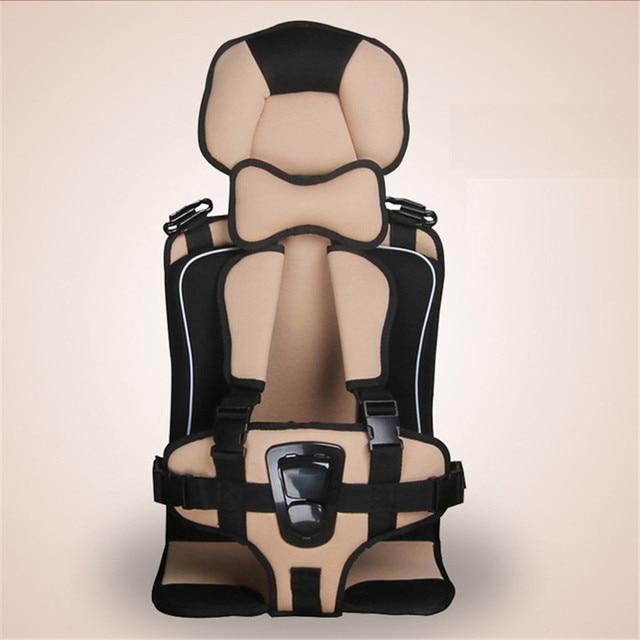 Cojín para silla de bebé de 3 a 12 años, cojín para asiento de silla transpirable, alfombrilla para asiento suave para niños, niños, niñas, accesorios de viaje