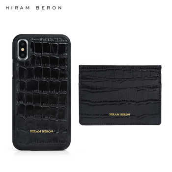 Hiram Beron make your own card wallet  case croco pattern slim card pocket Christmas gift dropship service - DISCOUNT ITEM  33% OFF All Category