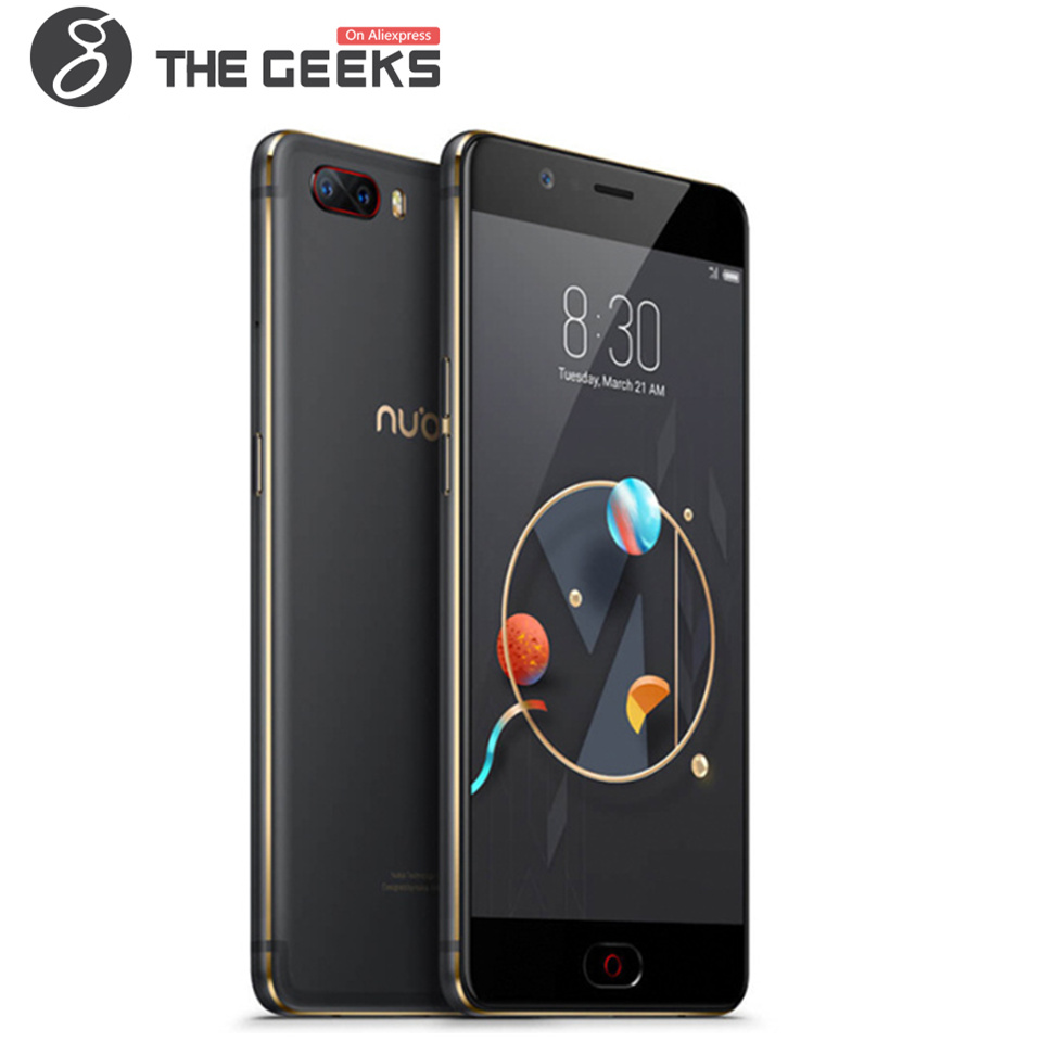 ZTE NUBIA M2 Mobile Phone 5.5 inch 4GB RAM 64GB ROM Snapdragon 625 2.0GHz Octa Core FHD Screen Dual Camera Android 4G Smartphone