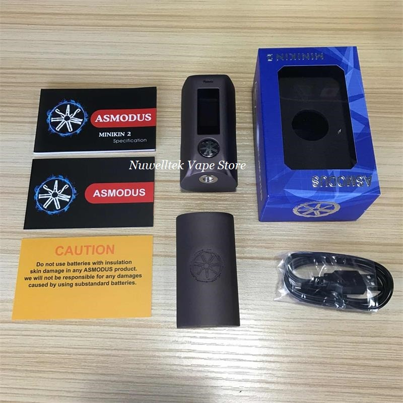 100% Original asMODus Minikin 2 180W Temp cotrol box mod with Capacitive Touch screen (8)