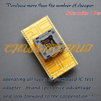 SA248 Programmer Adapter TQFP48 LQFP48 QFP48 To DIP48 IC Test Socket Pitch 0 5mm Size 6