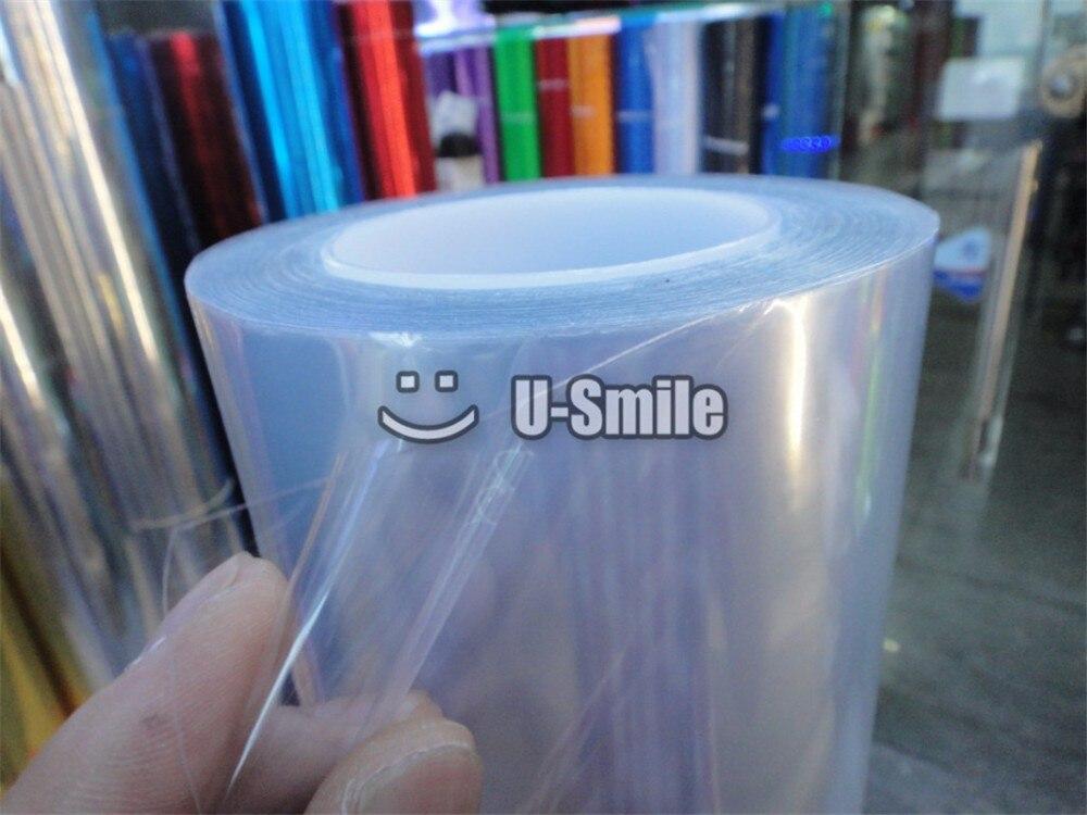 Pellicule de film de vinyle de protection de peinture de voiture transparente PPF brillante de 3 couches taille: 1.52*15 m/Roll - 3