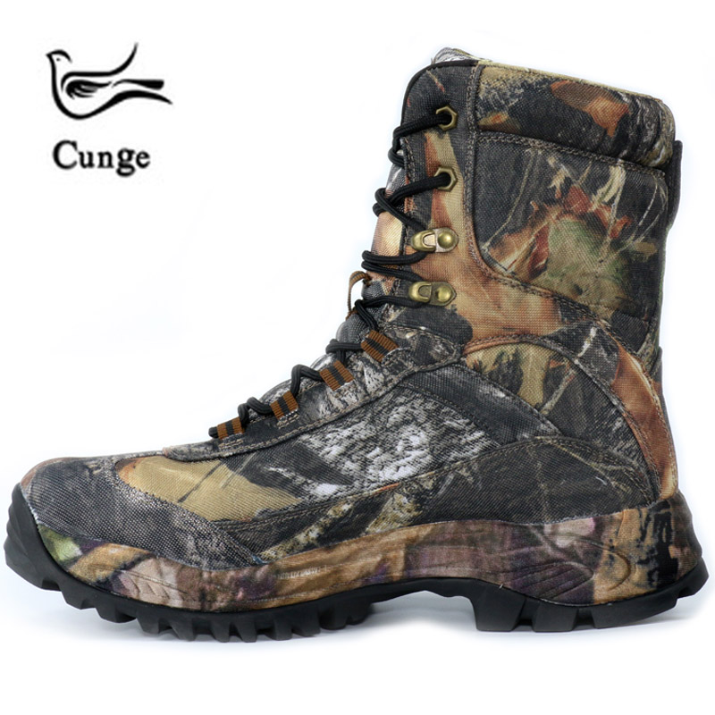 fcb134dcbd1 US $33.6 52% OFF|CUNGE Outdoor Tactical Sport Men's Shoes For Camping  Climbing boots Men Hiking Boots Mountain Non slip waterproof hunting  boots-in ...