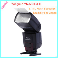 Yongnuo yn-565ex ii yn565ex ettl e-ttl flash speedlight para canon 550d 600d 1000d para nikon d7000 d5100 d5000 d3100 d3000 D700