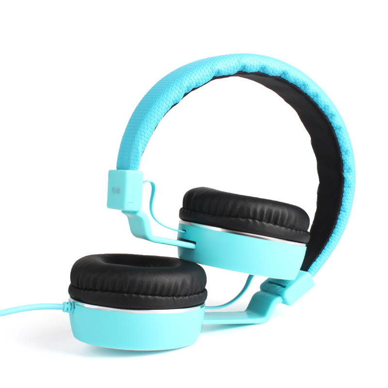 FE-005 Wired HIFI Stereo Headset Headphone Earphone with Mic for iPhone iPad PC Tablets #229489 rock y10 stereo headphone earphone microphone stereo bass wired headset for music computer game with mic