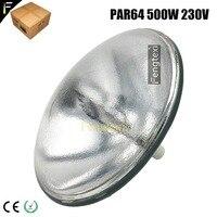 300hrs 3200k Theater Studio Lamp Par64 500w CP60 CP61 CP62 Lighting Bulb Par 64 500watt 230v240v GX16D Parabolic Reflector Lamp