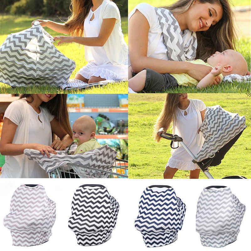 Verpleging Sjaal Cover Up Schort voor Borstvoeding Baby-autozitje Bedekkingsgraad